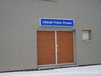 vstup - nádraží PRAHA - PROSEK